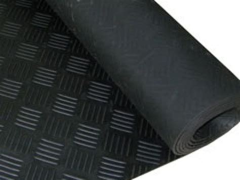 Spray On Rubber Matting by Chequer Plate Rubber Matting Smooth Floor Protection Florprotec