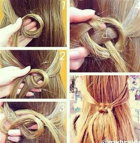 diy hairstyles quick and easy 7 easy and quick diy hairstyles with helpful tutorials