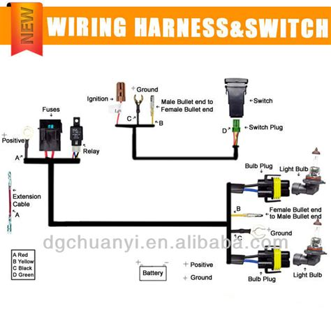 headlights to fog light relay wiring diagram get free