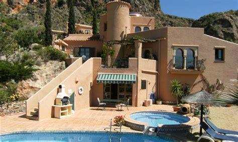 Houses With 5 Bedrooms luxury spanish holiday villas almeria spain villas my