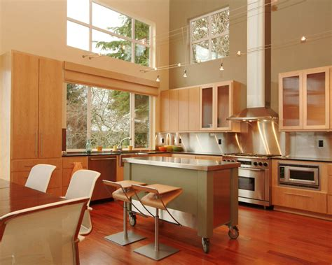 kitchen create rolling kitchen island create feel kitchen become attractive