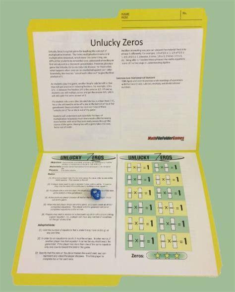 printable maths games for upper primary 163 best file folder math games images on pinterest file