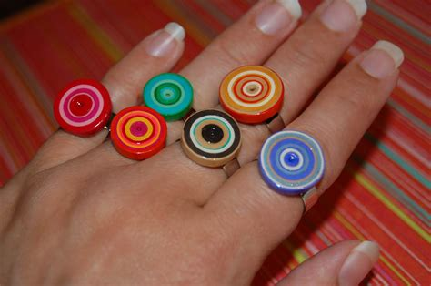 How To Make Ring With Paper - theartgirljackie tutorials funky paper quilled jewelry