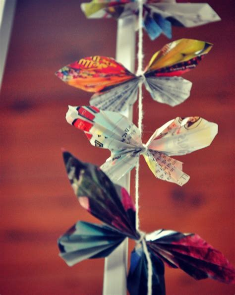 How Do You Make A Butterfly Out Of Paper - diy paper butterflies diy green