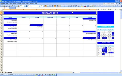 html event calendar template monthly event calendar excel templates