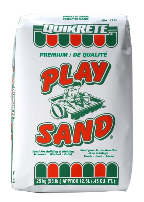 quikrete playsand kg  home depot canada