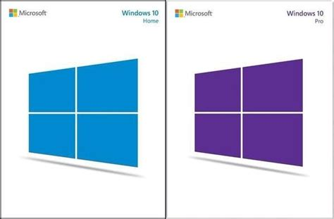 windows 10 home vs windows 10 pro similarities and
