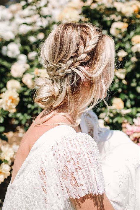best 25 hippie wedding hair ideas on flower