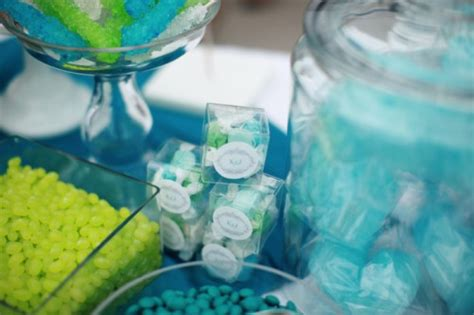 Beach Theme Blue White Candy Buffet Page 3 Wedding Blue And Green Buffet