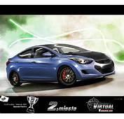 Hyundai Elantra 2013 Modificado Car Tuning