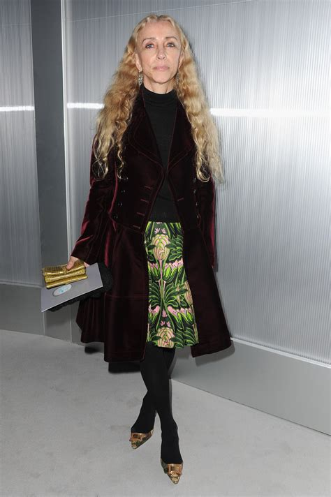 Chanel Haute Couture 2008 Front Row by Franca Sozzani In Chanel Front Row Fashion Week
