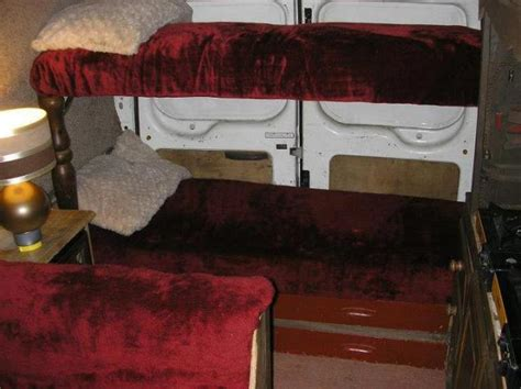 van with bed transit bunk beds cervan conversion cervan