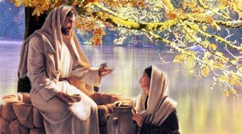 imagenes de jesus y la samaritana meditaci 243 n la samaritana y jes 250 s temas y devocionales