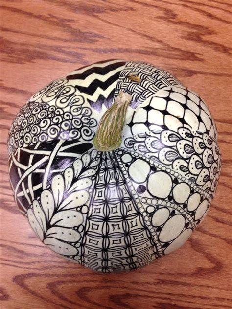 zentangle pumpkins images  pinterest zentangle