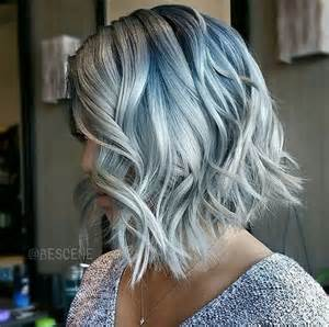 color hair denim hair color trend popsugar