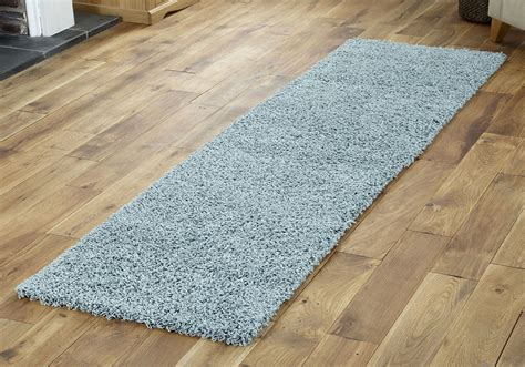 Duck Egg Blue Small X Extra Large Modern Rug Thick 5cm Small Rug
