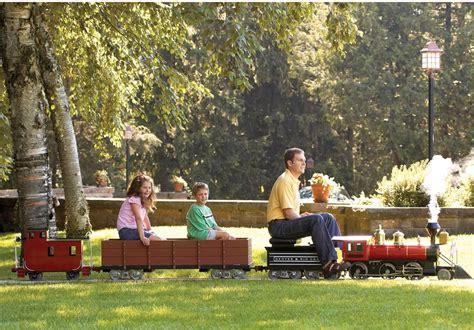 eisenbahn im garten amusement park ride on railroad wie im freizeitpark mini