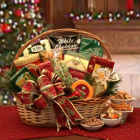 bountiful holiday gourmet food gift basket gift basket