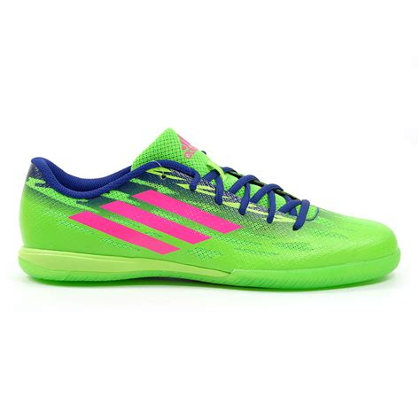 indoor soccer shoes adidas adidas freefootball ff speedtrick solar green indoor