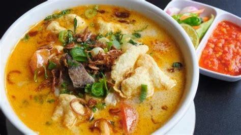 resep soto betawi  enak  hidangan bersama keluarga