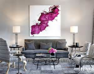 Gray And Purple Bedroom Ideas second wind art inspired design