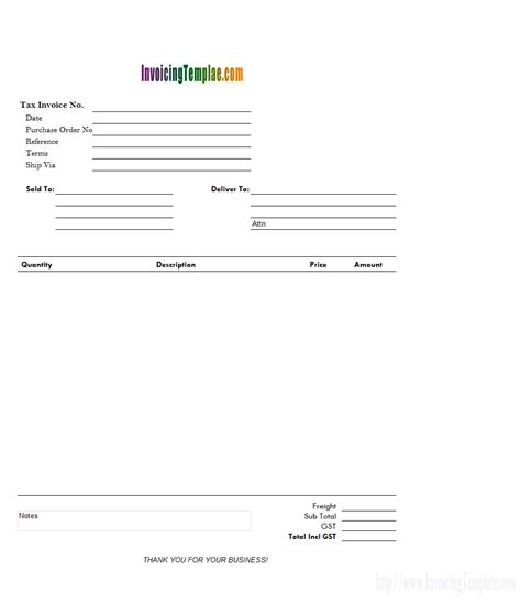 copy of an invoice template copy and paste invoice template
