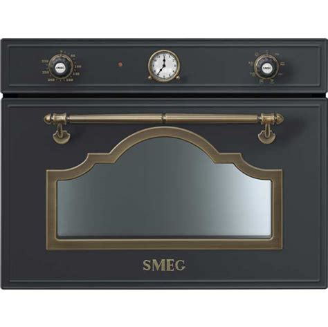 smeg cortina sf4750mao integrated microwave oven in