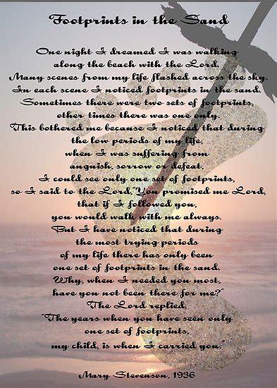 printable version of footprints poem juliayunwonder footprints poem