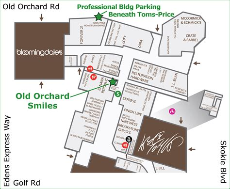orchard mall map orchard smiles contact us and location