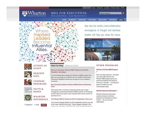 Wharton Mba Enabling Technologies Course Materials by Wharton Executive Mba Program Inspired Leaders