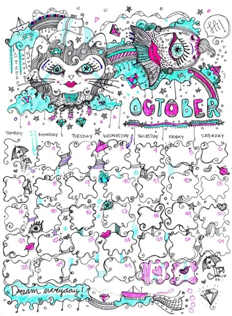 the doodle calendar 1000 images about user submitted calendar doodles on