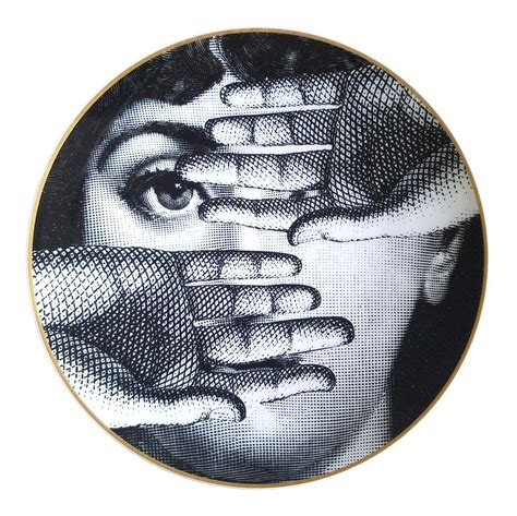 Vanities For Less by Vintage Fornasetti Porcelain Plate For Rosenthal Chairish