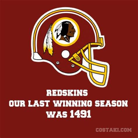 Redskins Meme - new team slogan washington redskins sports humor