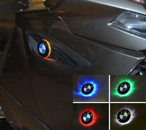 kgt  colour bmw roundel badge led lights emblem lights lighting electrical