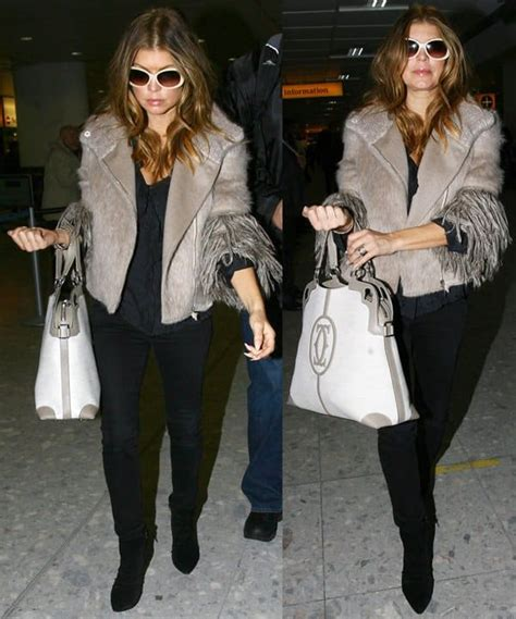 Name The Bag Fergie fergie in the marcello de cartier shopping bag