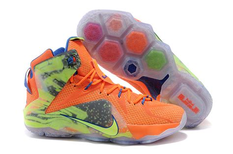 lebron 12 basketball shoes 2015 cheap lebron 12 orange lebron new mens nike