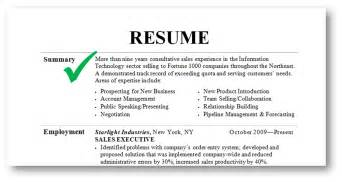 A Resume Summary by How To Write A Resume Summary That Grabs Attention Best