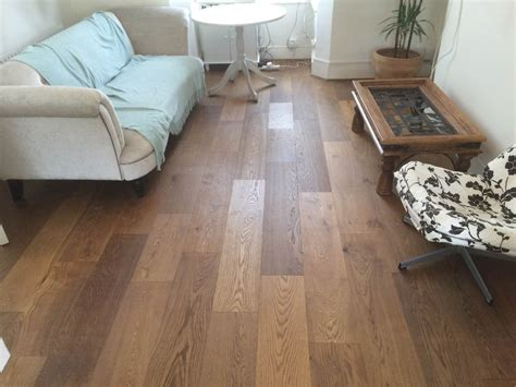 rustic smoked engineered real wood floor click sytem