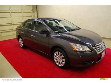 gray nissan sentra 2013 amethyst gray nissan sentra sv 85409961 photo 4