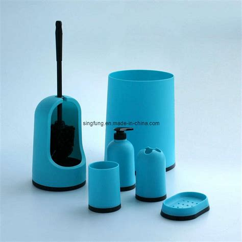 blue bathroom set china bathroom set sbs10 blue china bathroom set soap