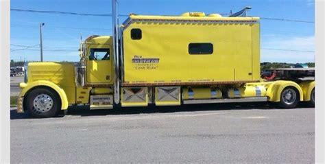semi truck sleeper big trucks trucks and