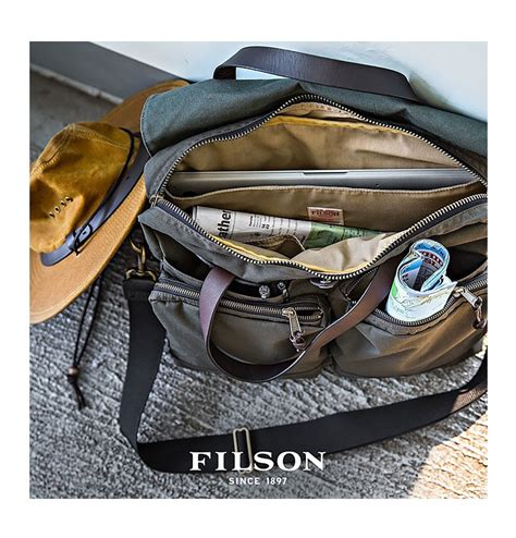 Two Tone Wool Bag With In 3 Colors filson 24 hour tin briefcase otter green bag with style and character beaubags