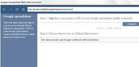 tableau wdc tutorial configuring tableau web data connectors on windows 10