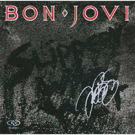 bon jovi album jon bon jovi autographed album