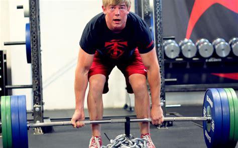 shane carwin bench press olympic bar vs deadlift bar