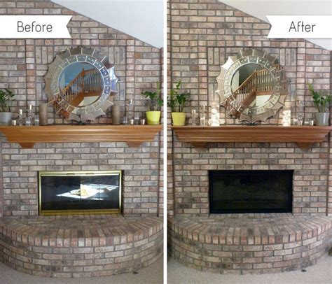 paint fireplace doors diy ideas