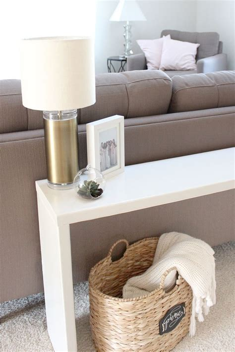 furniture for behind a couch 25 best ideas about table behind couch on pinterest