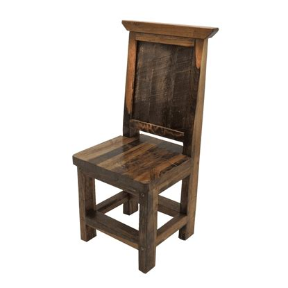 Reclaimed Wood Dining Chairs Wyoming Reclaimed Wood Dining Chair