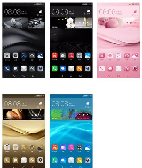 gallery 9 themes mate 8 themes huawei themes