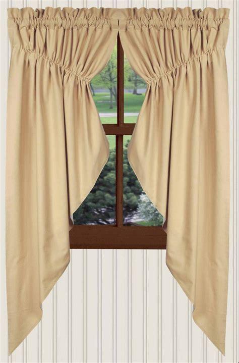prairie curtains farm house solid prairie curtains in nutmeg